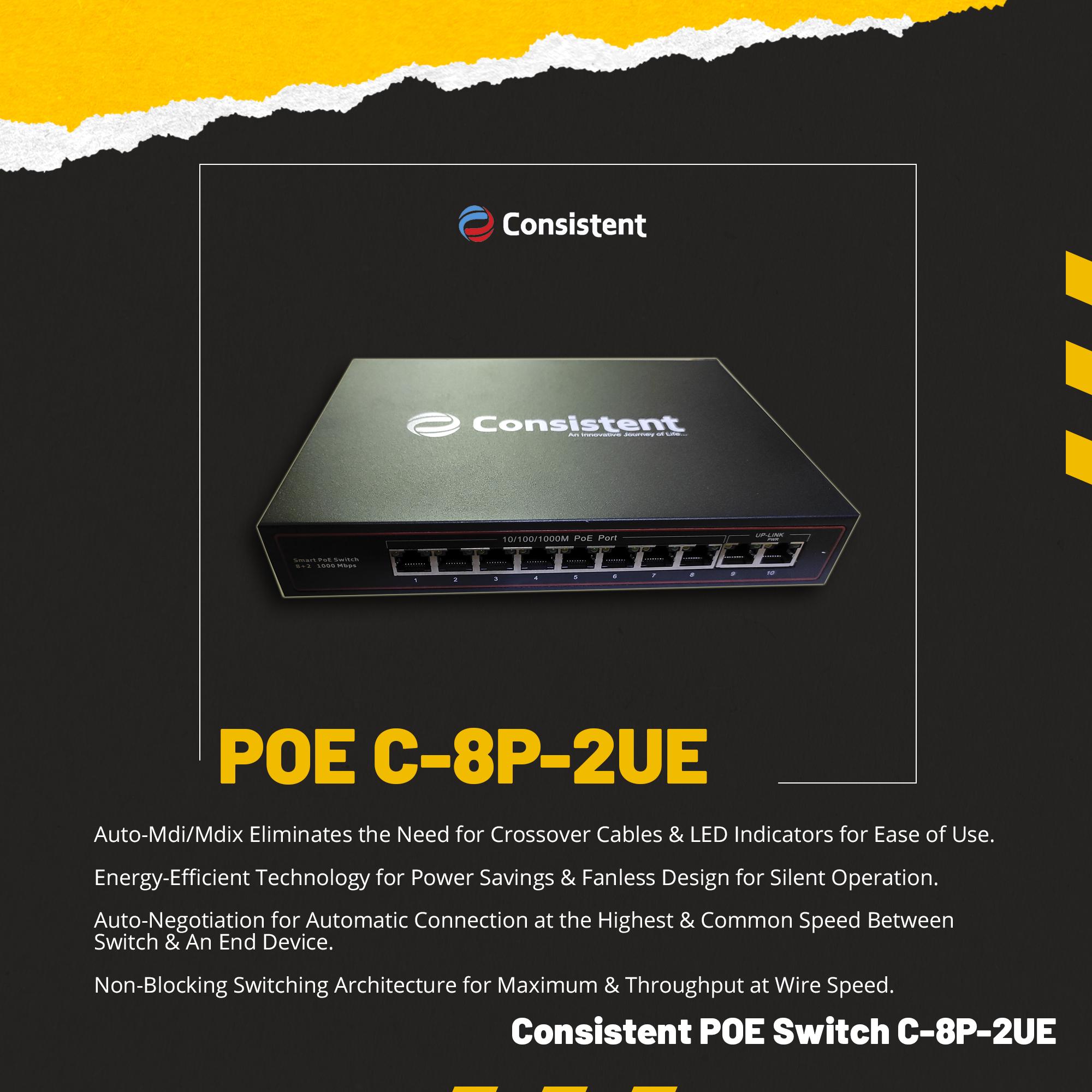 POE C-8P-2UE